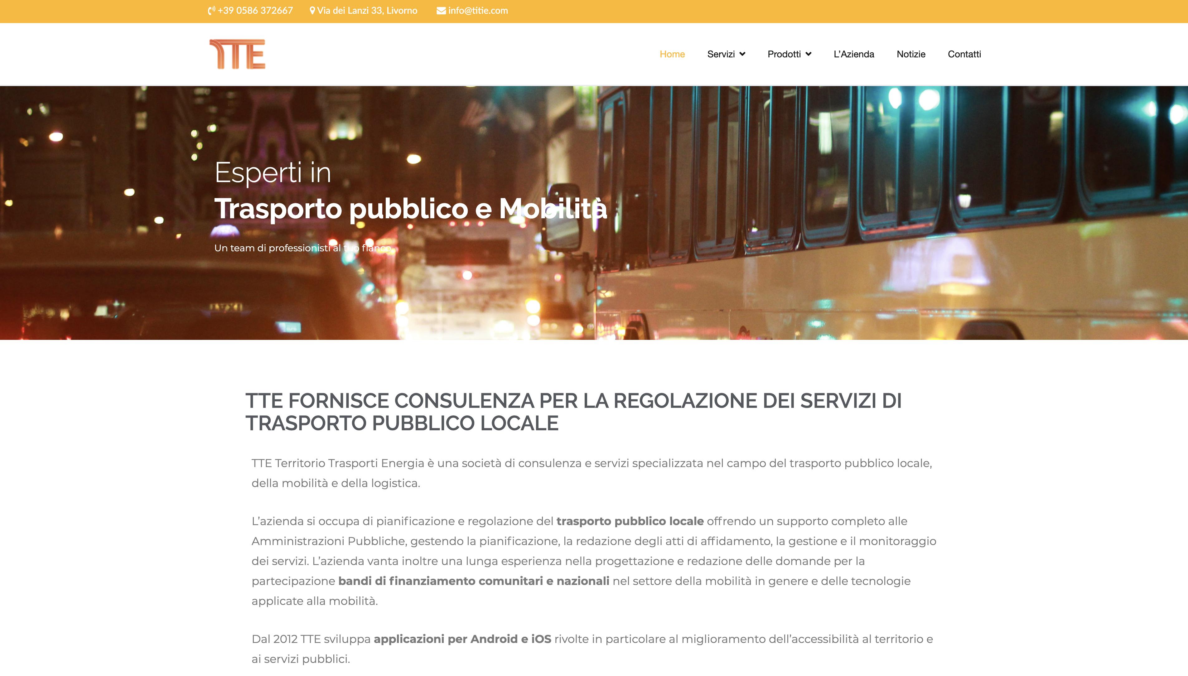 TTE rinnova il suo sito web e inaugura una nuova stagione