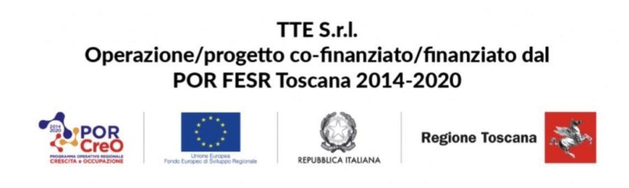 Progetto Cofinanziato dal POR FESR Toscana